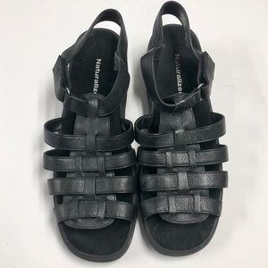 Weaved Leather Sandals